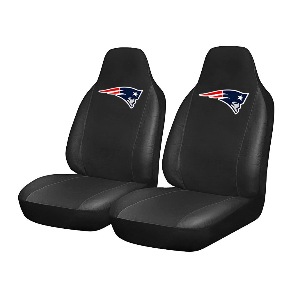 fanmats 15612 new england patriots logo on seat cover. Black Bedroom Furniture Sets. Home Design Ideas