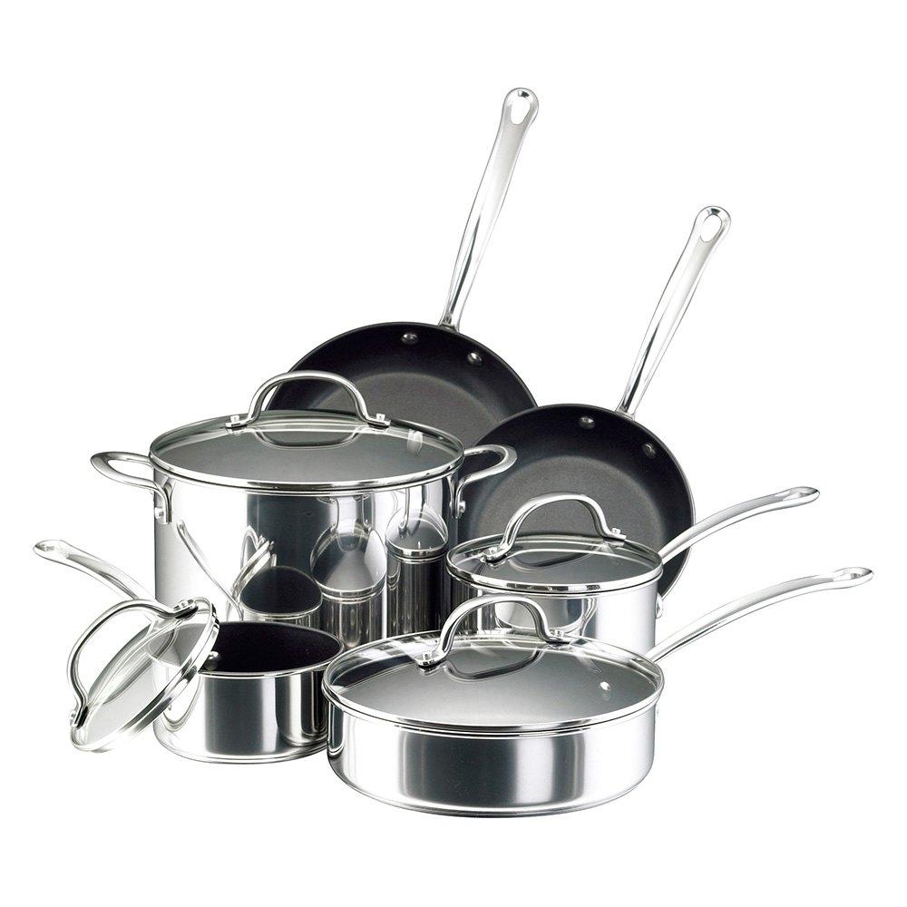 Farberware® 75655FARB - 10-Piece Cookware Set, Nonstick