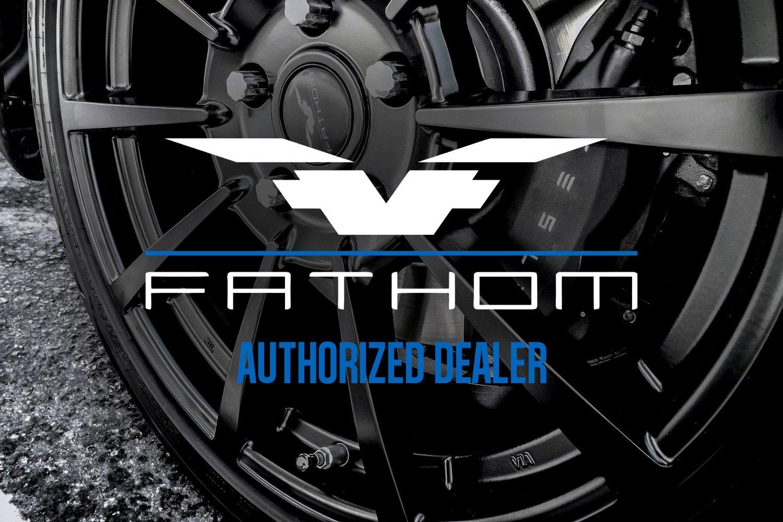 FATHOM FDRA Wheels Satin Black Rims - How much is a fathom