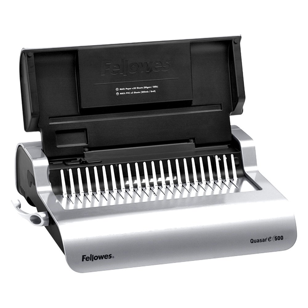 quasar 500 comb binding machine