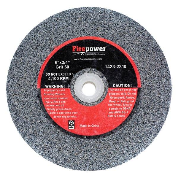 Firepower 1423 2310 6 X 3 4 60g Bench Grinding Wheel