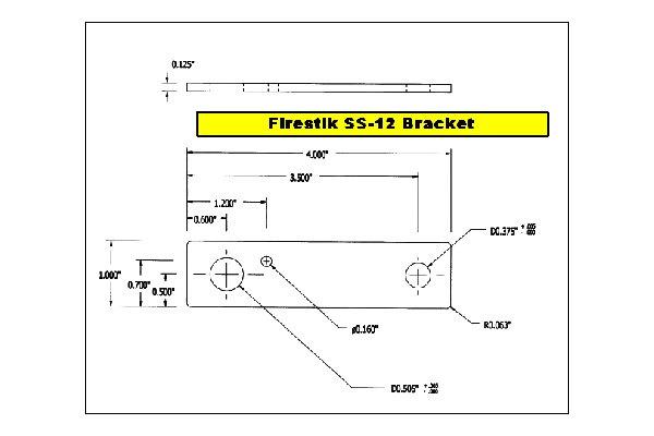 firestik® ss124a flat universal stainless steel cb antenna mount schematic wiring diagram firestik® flat universal stainless steel cb antenna