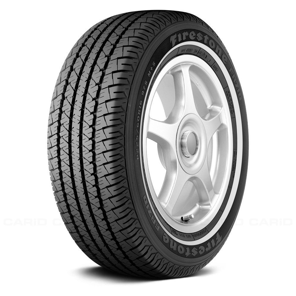 FIRESTONE® FR710 WITH WHITE WALL Tires