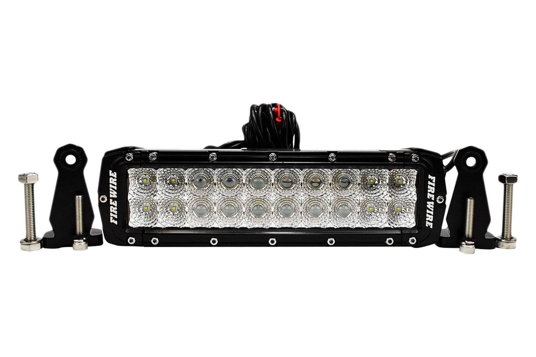 Firewire dual row led light bar 10 60w dual row combo spotflood beam led light bar front aloadofball Image collections