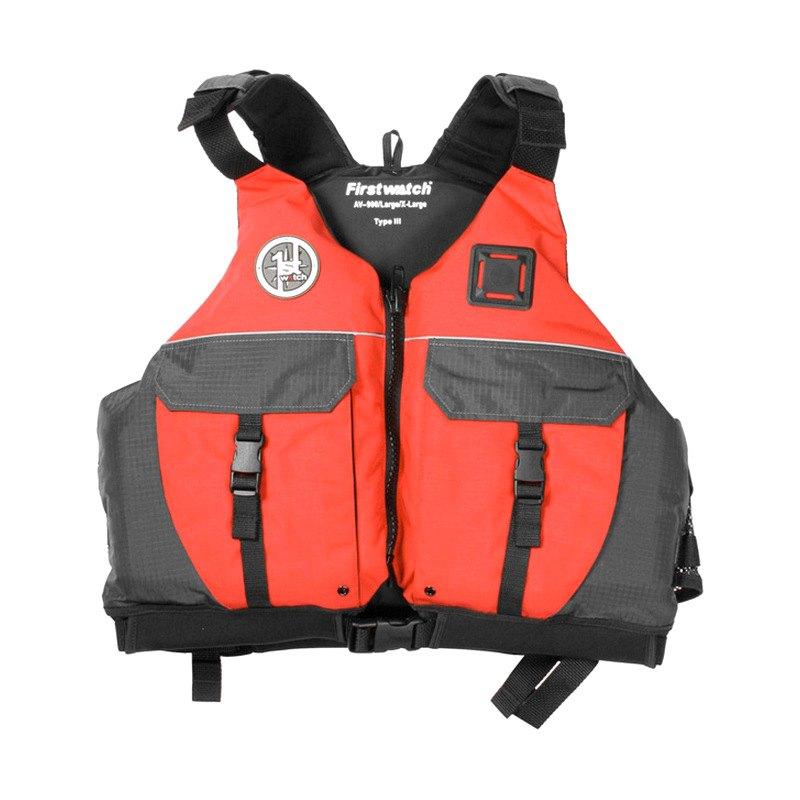 First Watch® AV-9002-XXL - Sport Vest XXL Red/Gray
