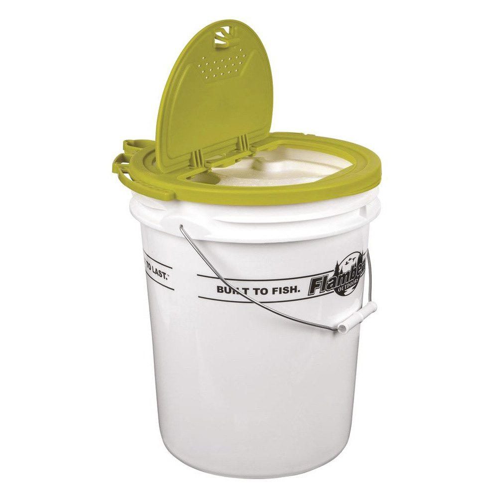 Insulated Ice Fishing Minnow Bucket Pictures To Pin On