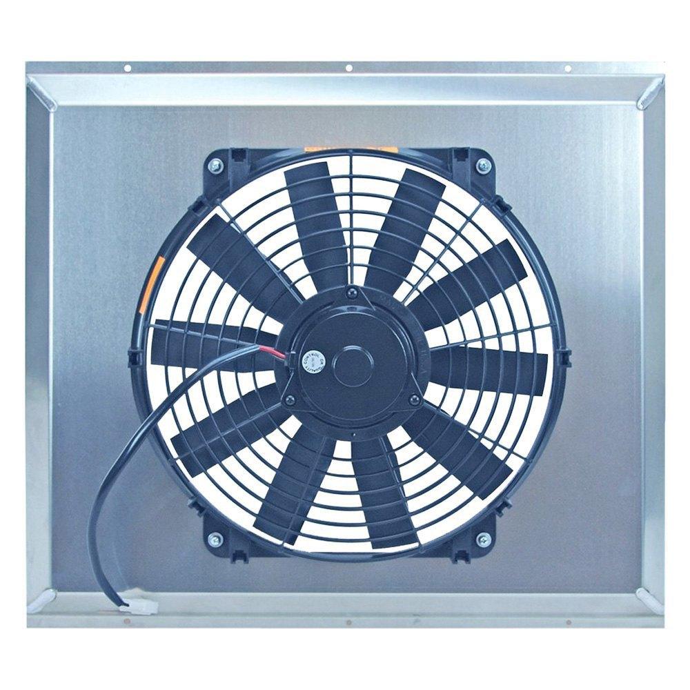 Flex-a-lite® 53724 - Electric Fan with Aluminum Shroud