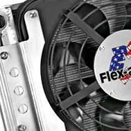 Flex-a-lite® - Crossflow Radiator Fan Combo With Driver Side Inlet