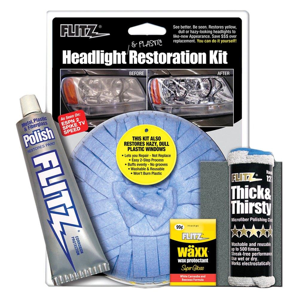 Auto Headlamp Polishing: Headlight Restoration Kit