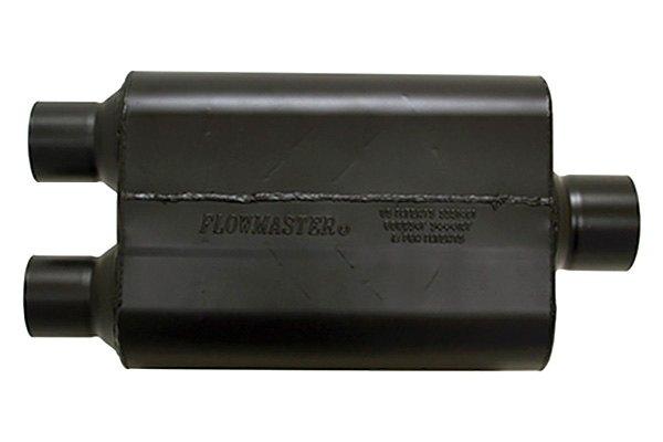 "Super 44 Series Universal Oval Muffler 2.5/"" Inlet 3/"" Outlet Flowmaster 8425453"