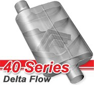 Flowmaster - 40 Series Delta Flow Mufflers