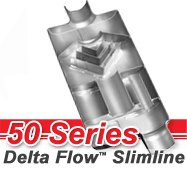 Flowmaster - 50 Series Delta Flow Slimline Mufflers