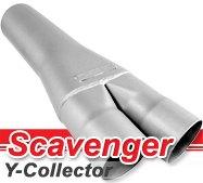 Flowmaster - Scavenger Series Y-Collector