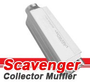 Flowmaster - Scavenger Collector Race Mufflers