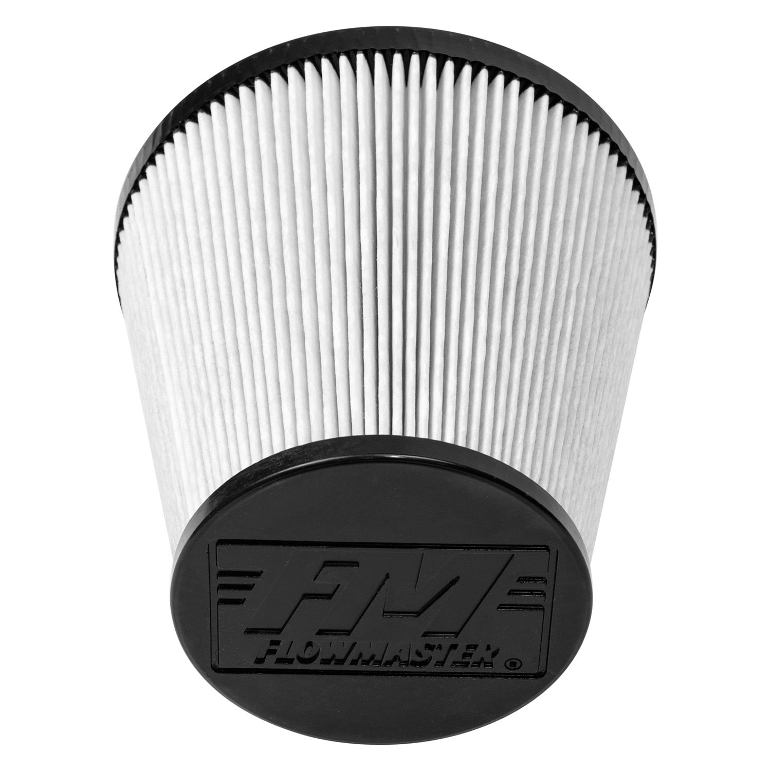 Delta Air Cleaner Filters : Flowmaster d delta force dry round tapered white