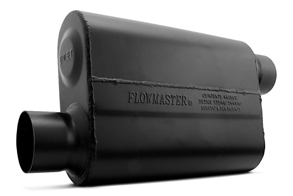 Flowmaster® 8430109 - 10 Series Delta Force™ 409 SS Single Chamber ...