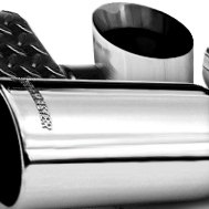 Flowmaster® Stainless Steel Rolled Angle Tip with Embossed Logo
