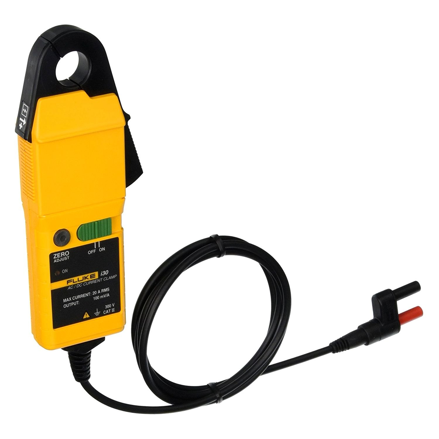 Dc Current Meter : Fluke electronics i ac dc current clamp meter