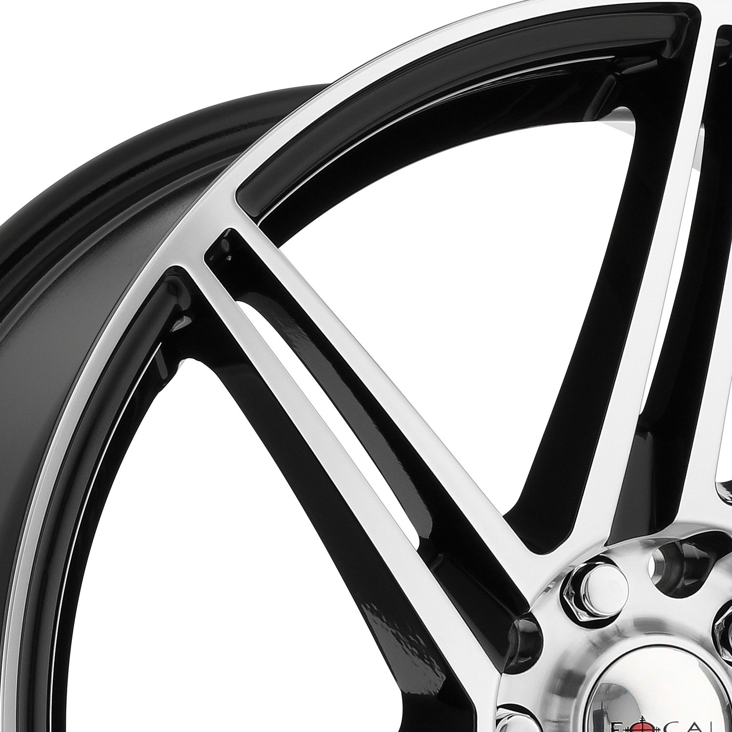 Focal 174 449u F 14 Wheels Gloss Black With Diamond Cut
