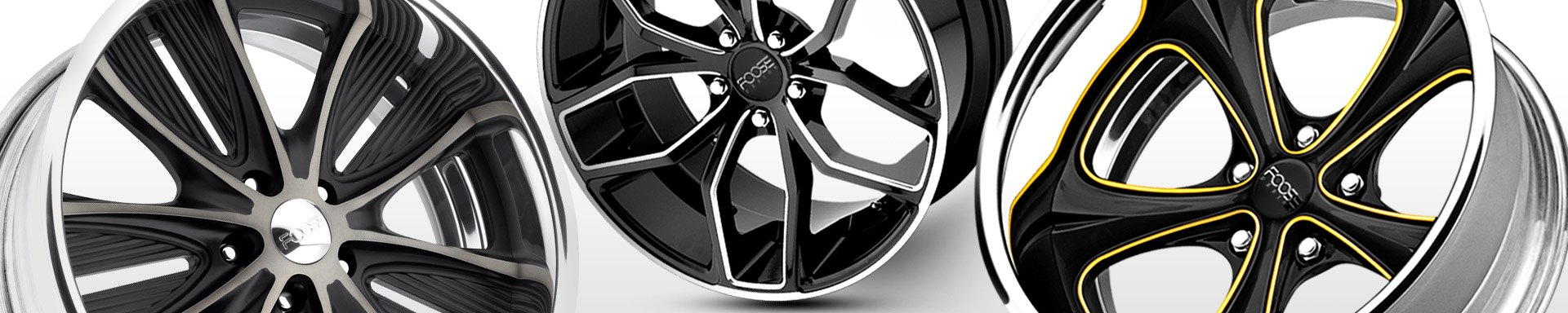 Universal FOOSE WHEELS & RIMS