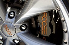 FOOSE® - NITROUS 2PC Cast Polished on Dodge charger