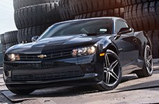 FOOSE® - STALLION 1PC Matte Black on Black Chevy Camaro