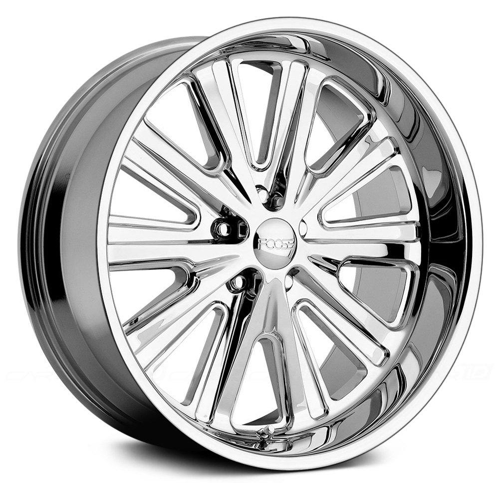 Foose 174 Ascot Multipiece Wheels Custom Rims