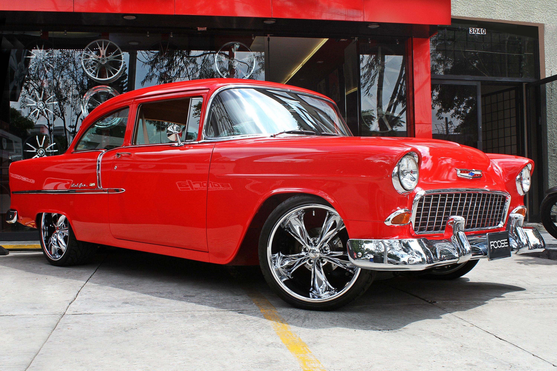 Vintage car chrome simply