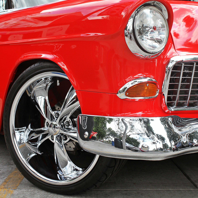 Vintage car chrome opinion