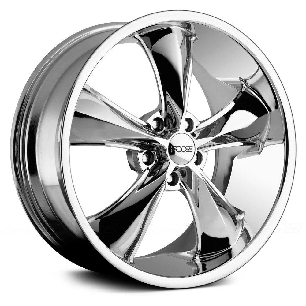 Dodge Challenger 24 Inch Rims >> FOOSE® LEGEND Wheels - Chrome Rims