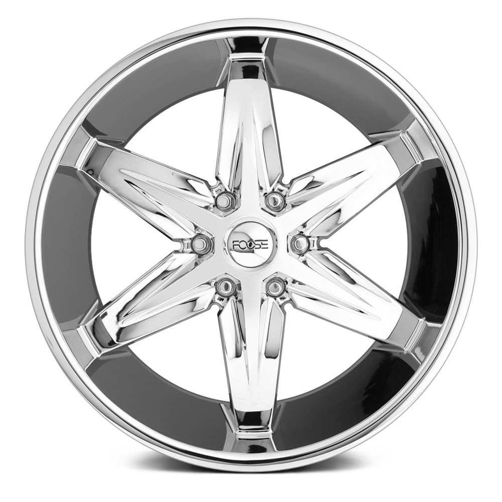 30 Chrome Rims : Foose wheels  slider pc rims