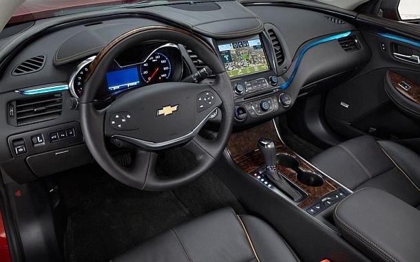 Carbon fiber or wood interior for new chevy impala for Chevrolet impala 2015 interior