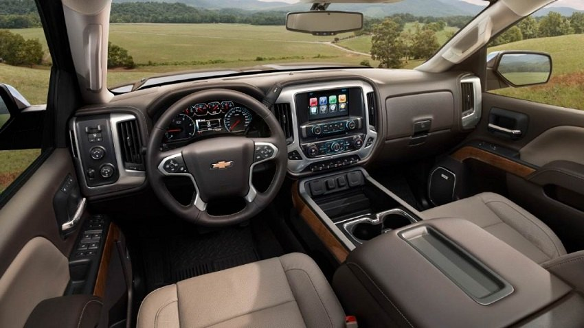 SilveradoSierra.com • Carbon fiber or wood interior for New Chevy Silverado : Interior