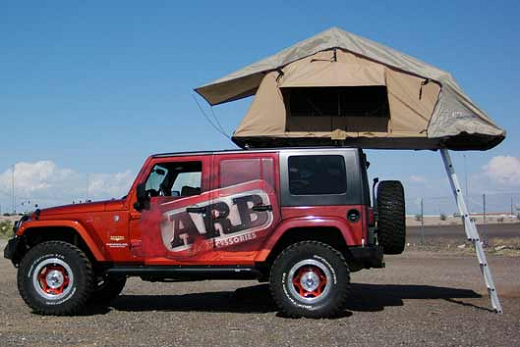 Purchase An Arb Rooftop Tent And Get A Gift From Carid Jkowners