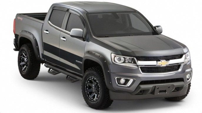 2015 Colorado Bushwacker fender flares