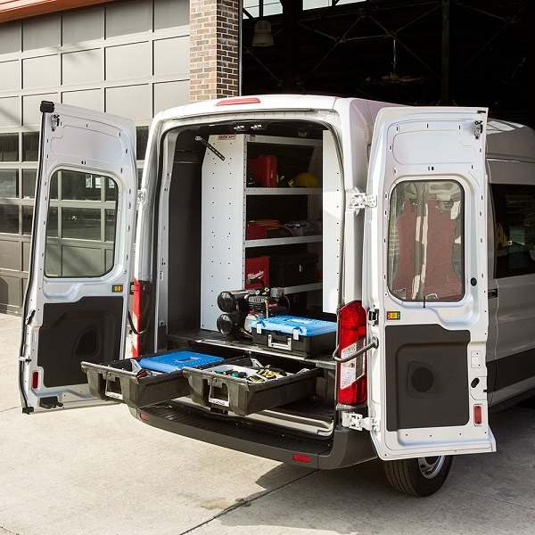 Cargo Van Storage System By DECKED For The Ford Transit At
