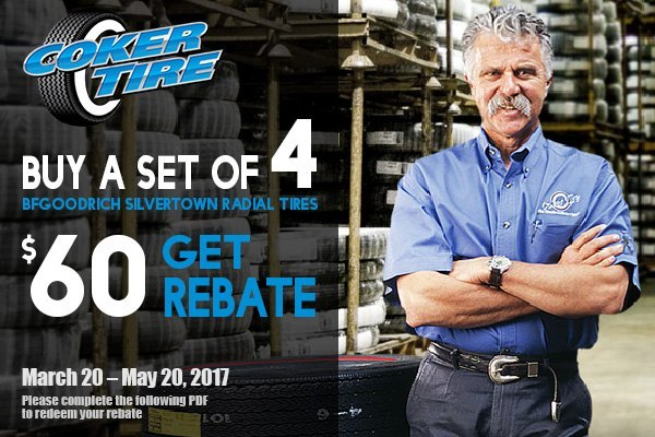 Coker tire discount coupon
