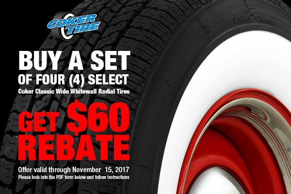 Coker Radial Whitewall Tires On Sale At Carid Team