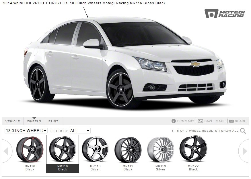Aftermarket rims and tires for chevy cruze at carid chevy cruze forum chevrolet cruze