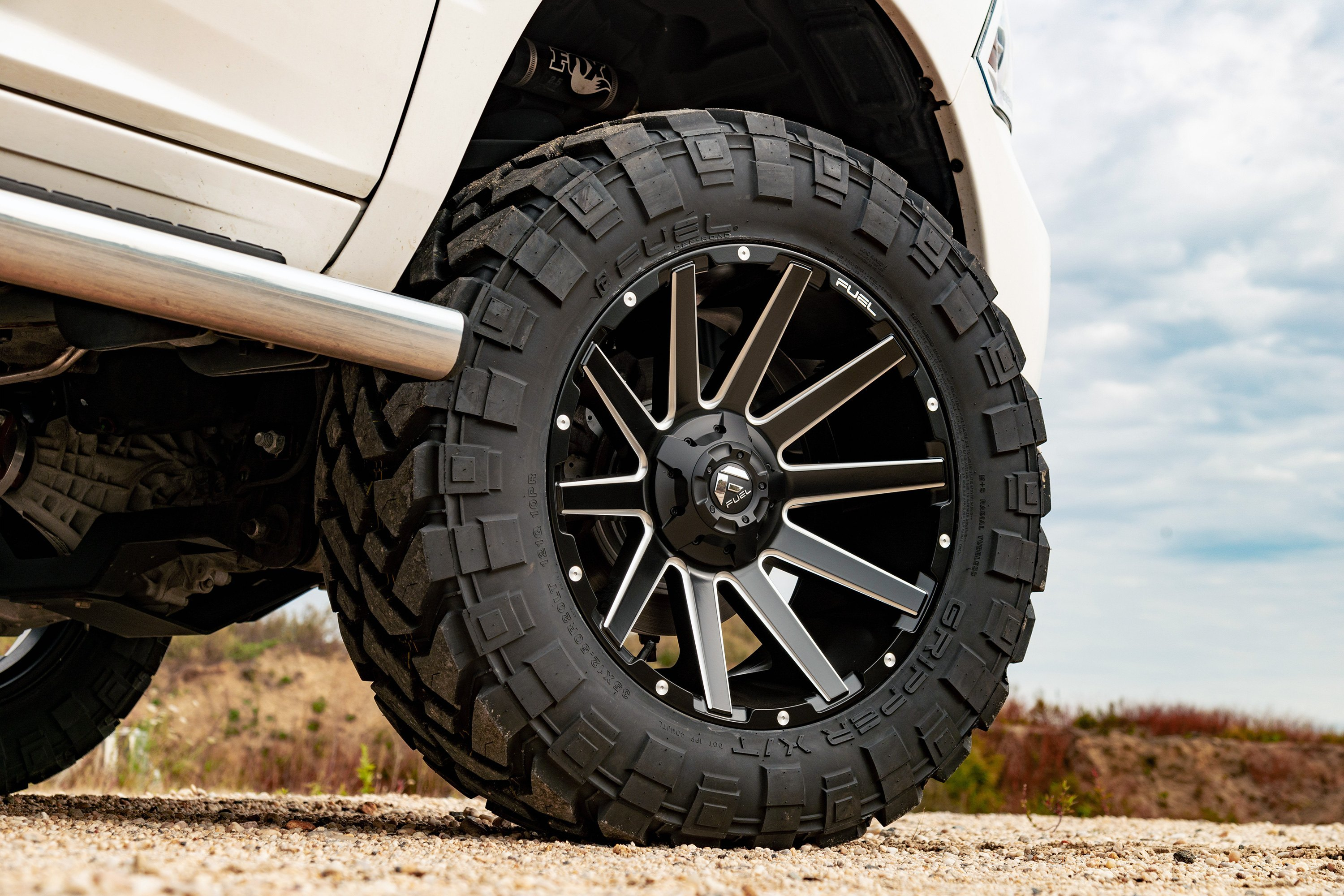 Truck Mud Tires >> Turn your Ford into a real eye-catcher with Fuel Off-Road ...