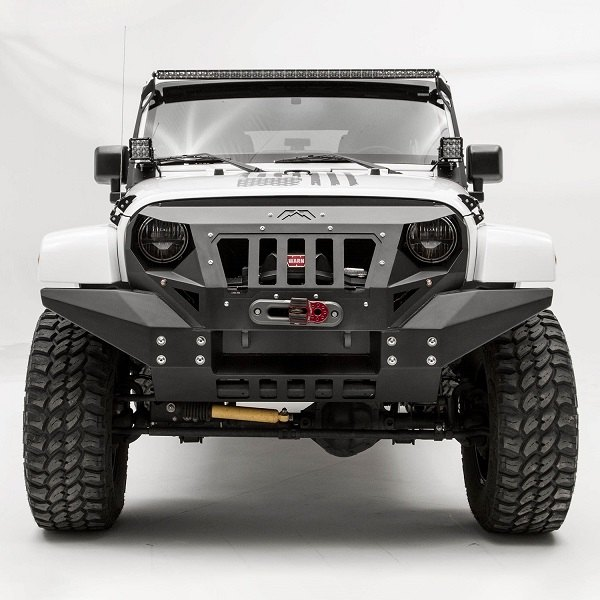Top Ten Fab Pictures: Build One Of A Kind Jeep With Grumper Front Bumper From