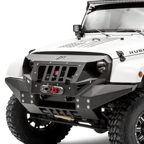 Modify Your Rig With Both Grille And Front Bumper