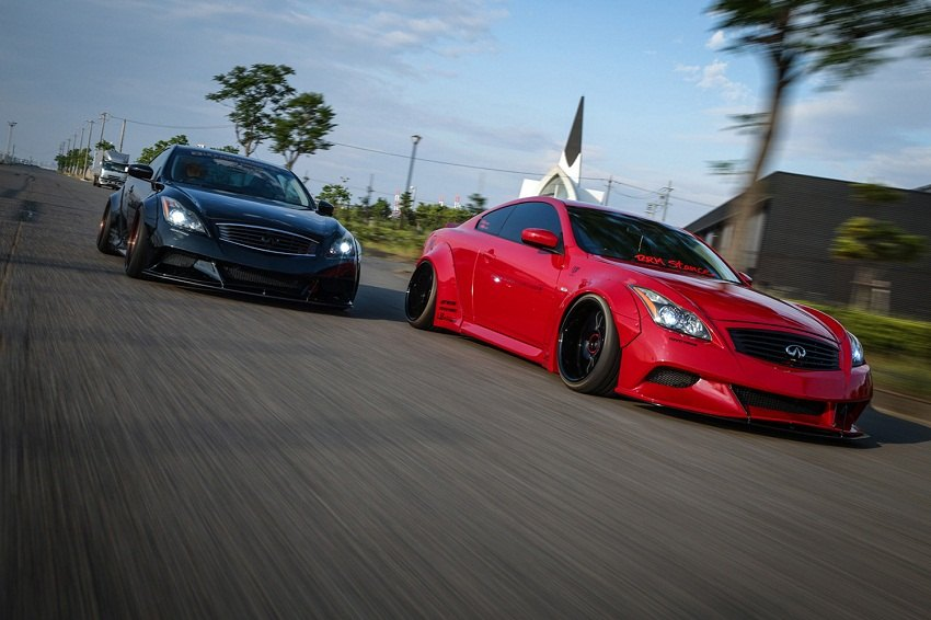 Must See Liberty Walk Body Kit For G37 6mt Net Infiniti