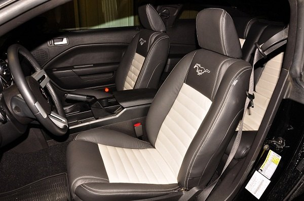 Katzkin Leather Upholstery Interior Kit For Your Mustang At Carid Dfwstangs Forums