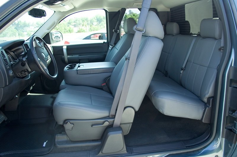 Luxurious Leather Seat Covers