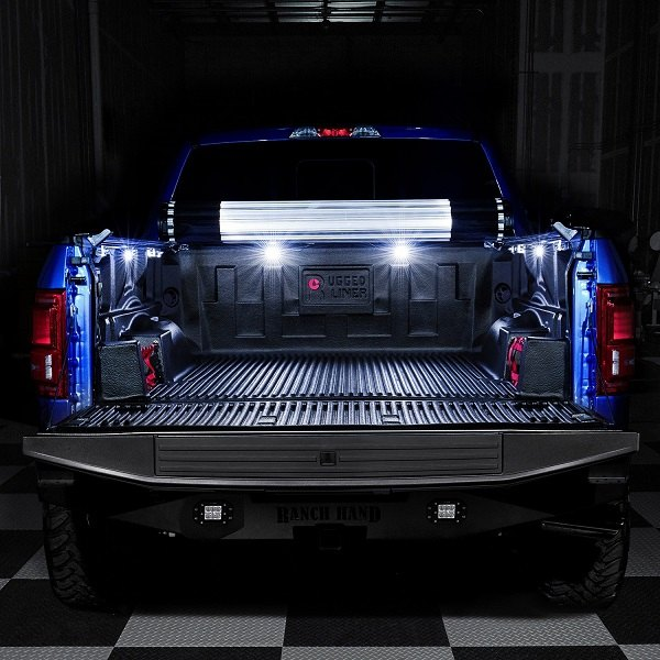 Truck Bed Dimensions >> High-efficiency Lumen truck bed LED lights for Silverado ...