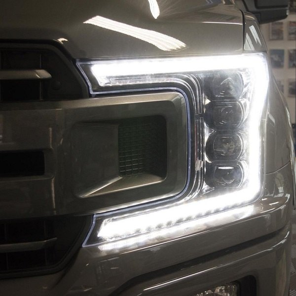 Custom Truck Headlights >> New Morimoto XB Sequential Headlights for 2018 F150: Pre-order at CARiD! - Ford F150 Forum ...