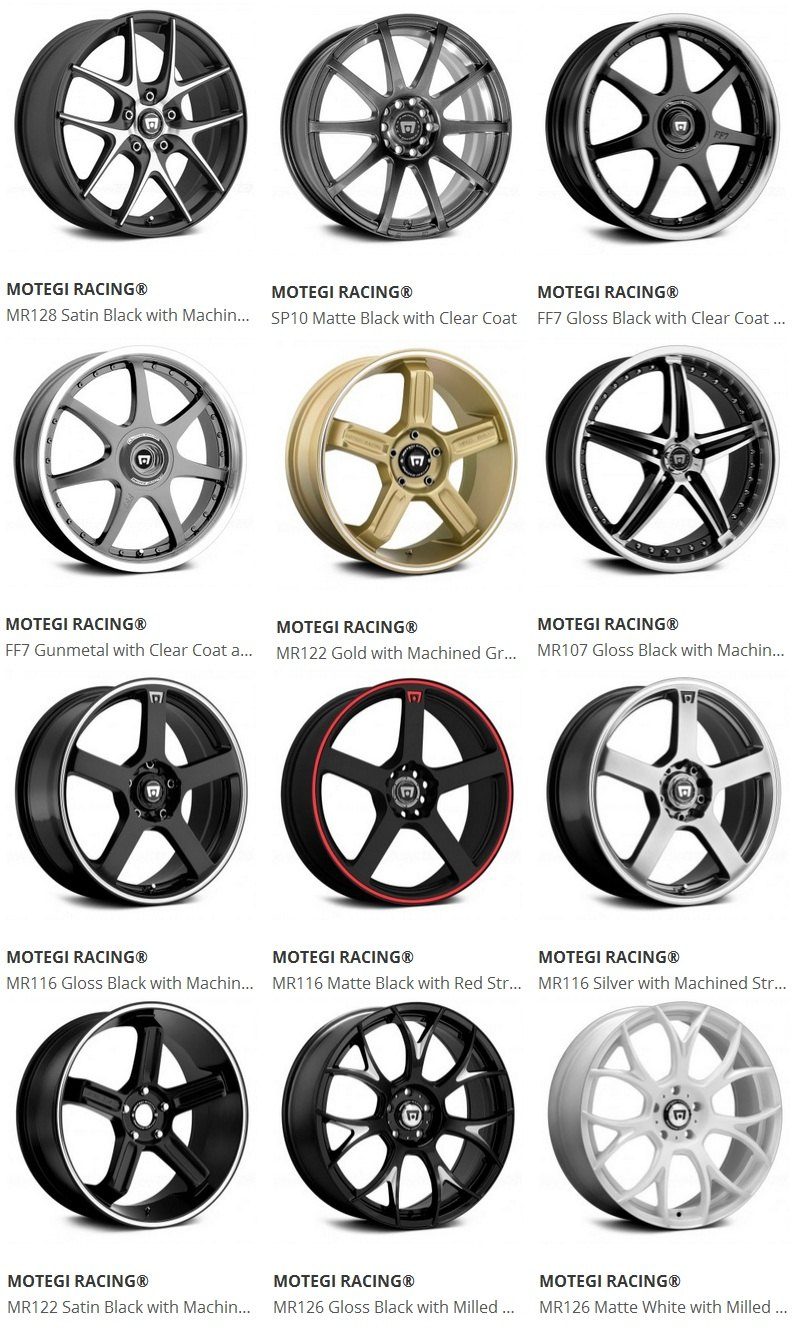 Aftermarket Rims And Tires For Chevy Cruze At Carid