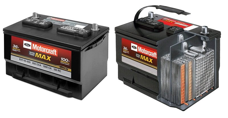 Motorcraft All New Tough Max Battery
