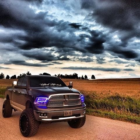 Ram Oracle Headlights >> Colorful Halo Headlights by Oracle Lighting for your 2015 Ram - DODGE RAM FORUM - Dodge Truck Forums